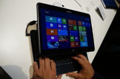 Her kjører Ativ Q Windows 8.