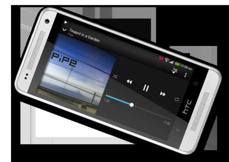 HTC One mini er utstyrt med stereohøyttalere og dedikert forsterker fra Beats Audio.