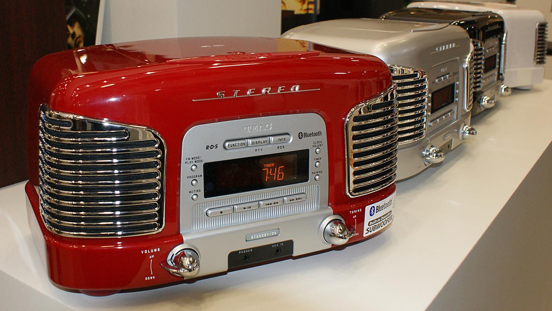 Transistorradio med cd afspiller