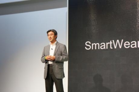 Kunimasa Suzuki, topchef for Sony Mobile, havde et helt nyt high-end arsenal med i ammunitionskassen på årets Mobile World Congress.