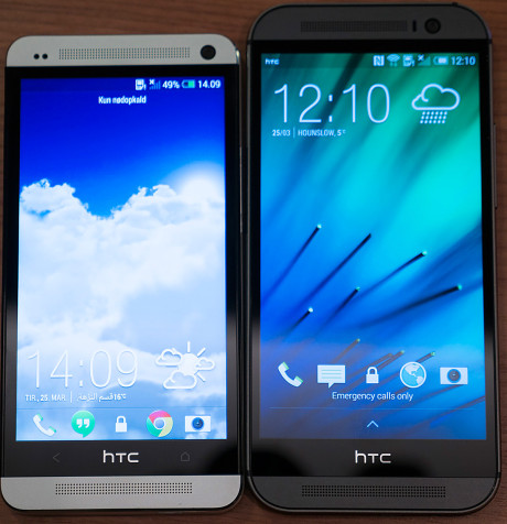 HTC-M8-vs-M7-front