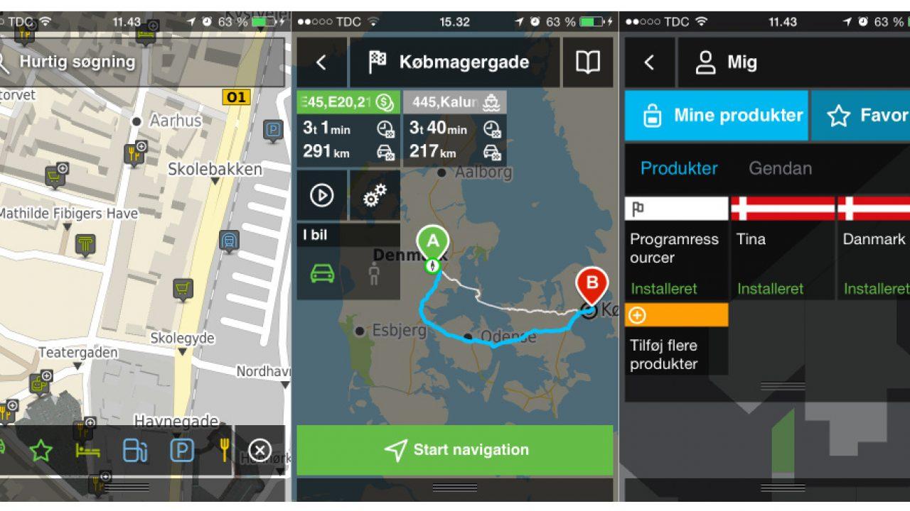 Gratis Mobilnavigation Fra Krak Lyd Billede