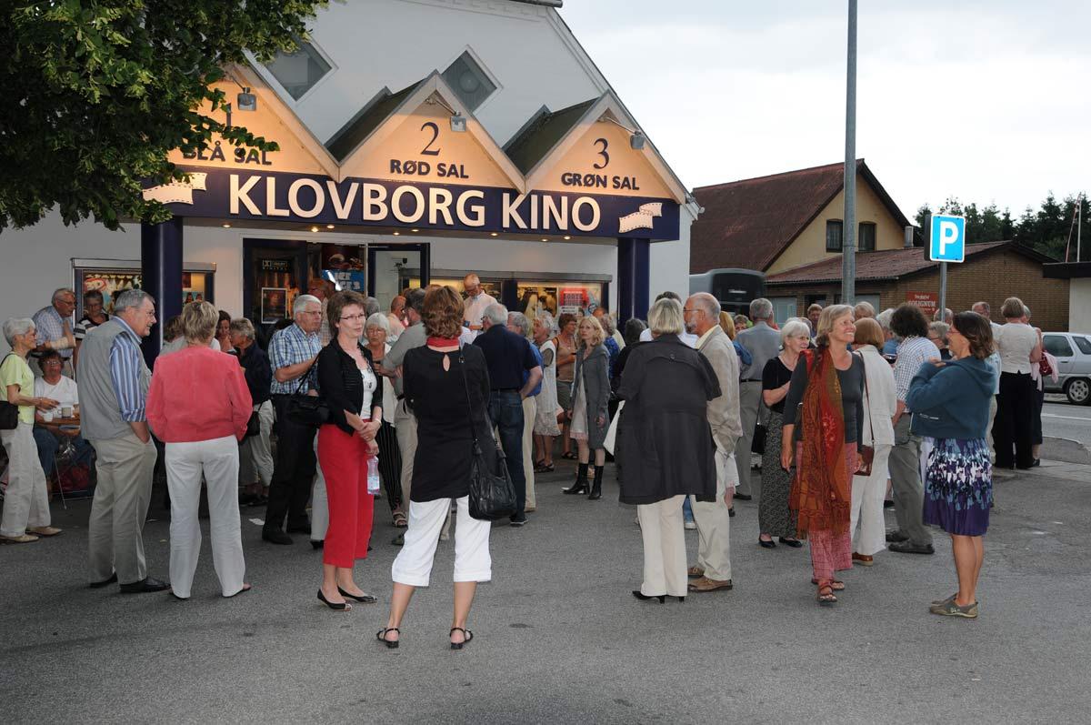Ca. hver anden måned får Klovborg sit eget operahus. Så sendes der live til biografen fra de største operahuse i Europa. (Foto: Steen Rasmussen).