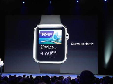 Man skal for eksempel kunne bruke Apple Watch til å låse døren til hotellrommet