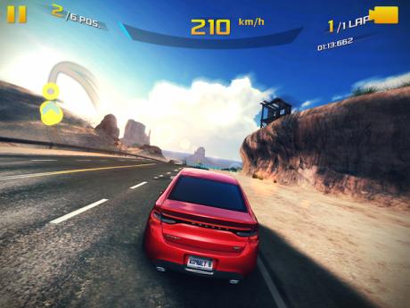 iOS 8 kommer med den nye Metal API, som lar utviklerne gjøre bedre bruk av prosessorens grafikk-motor enn tidligere. Det kan man få demonstrert i spillet Asphalt 8: Airborne, som er ekstremt grafikktungt, men kjører som i olje på iPad Air 2.