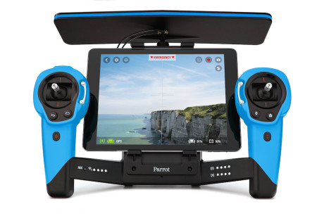 Parrot Skycontroller_Blue_Tablet