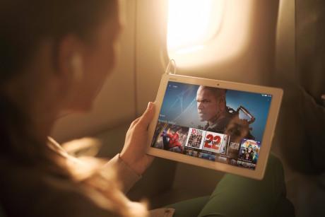 Op til 17 timers afspilning af video skal Xperia Z4 Tablet kunne klare på en fuld opladning.