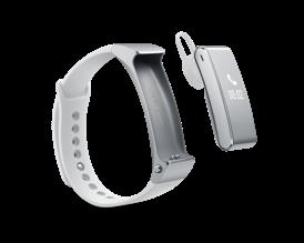 Huawei TalkBand B2 kan både bruges som aktivitetsarmbånd og som bluetooth headset til mobilen.