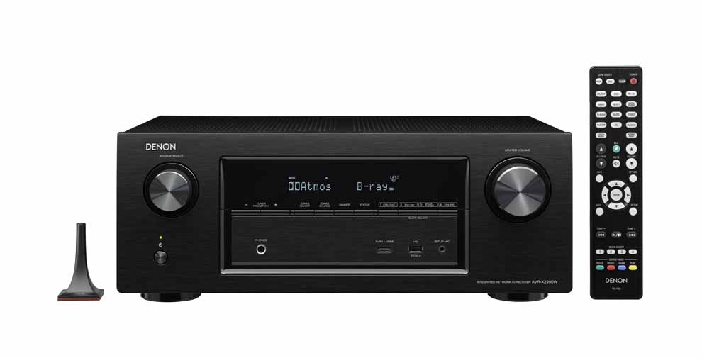test hjemmebiograf gruppetest surround receivere denon avr xw