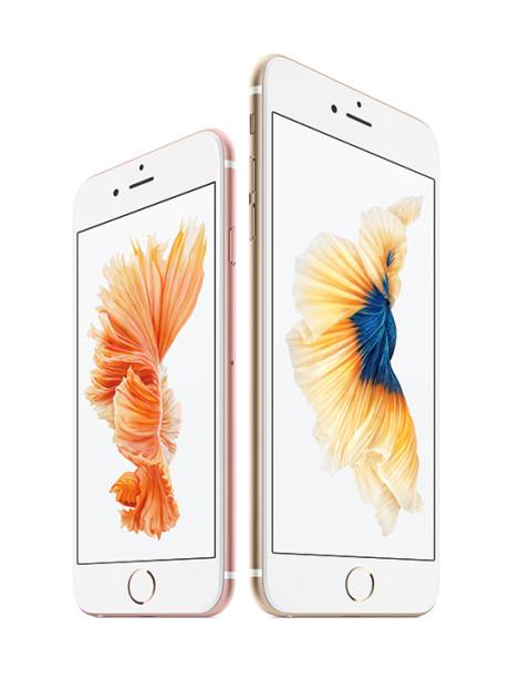 De nye iPhones kommer i en almindelig og i en Plus-udgave med større skærm. Præcis som sidste år. Foto: Apple