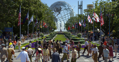 Disney's TOMORROWLAND..World's Fair ..Ph: Film Frame..©Disney 2015