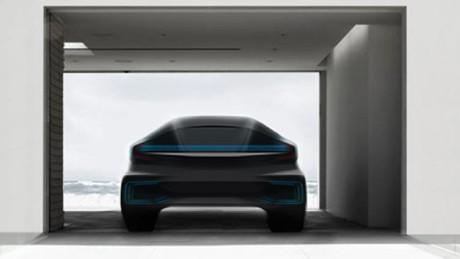 Computergrafik: Faraday Future