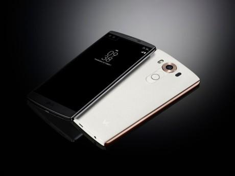 LG V10 kommer i sort og hvid til en vejledende pris på 5.490 kroner. Foto: LG