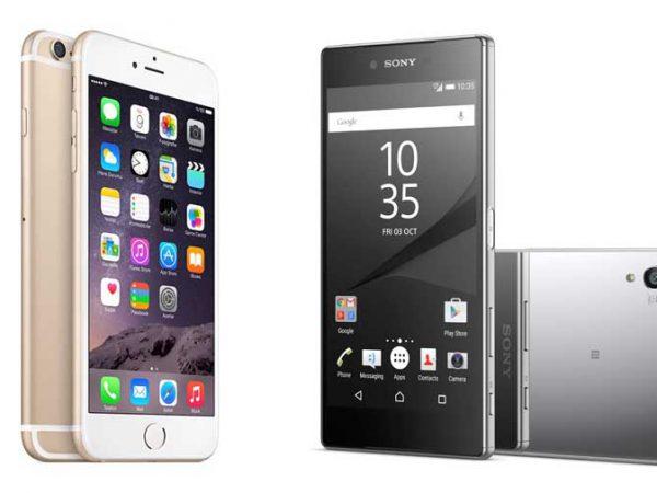 Sony Xperia Z5 Premium vs. iPhone 6s Plus