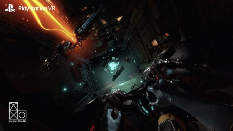 Screenshot fra VR Worlds. Foto: SCE WWS