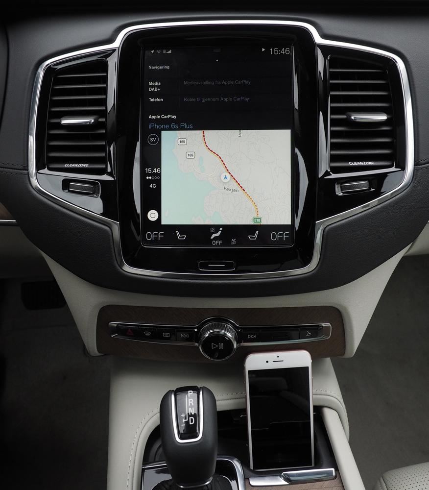Vores favorit er navigationsløsningen i iOS og CarPlay, som faktisk er bedre end i de fleste biler.