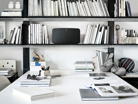 Multirumshøjttalere kan give dig aktiv vellyd i alle værelser. Prøv at forestille dig et stereoanlæg pr. rum! Foto: Sonos