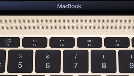 Faktisk er lyden ganske fin og fyldig for en så tynd laptop. Foto: Lasse Svendsen, Lyd & Billede
