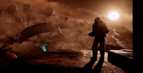 I VR-spillet Farpoint er man fanget på en fjern og fjendtlig planet.