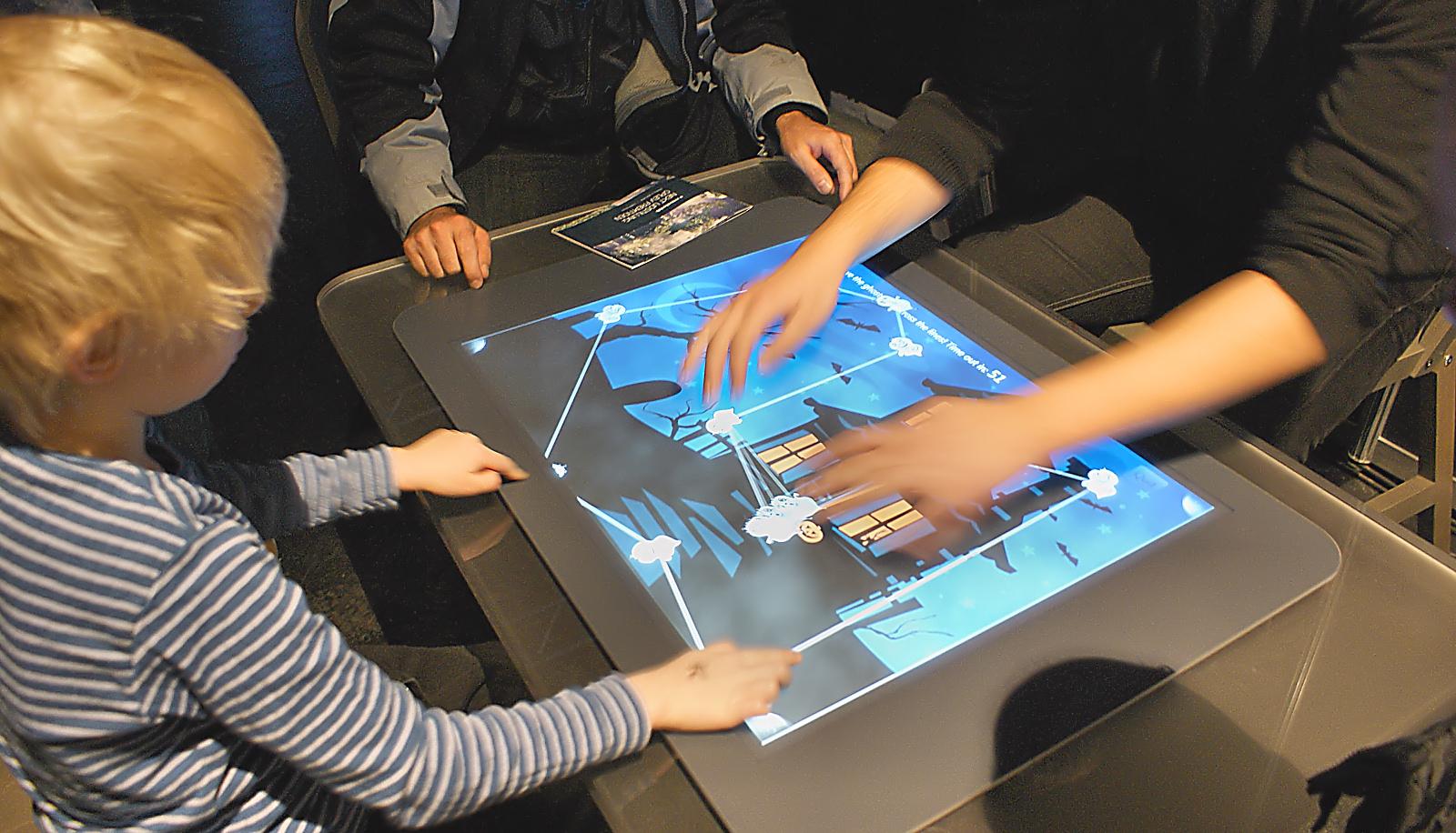 """Den første Surface-computer var """"et digitalt sofabord."""" Foto: John Alex Hvidlykke, Lyd & Billede"""