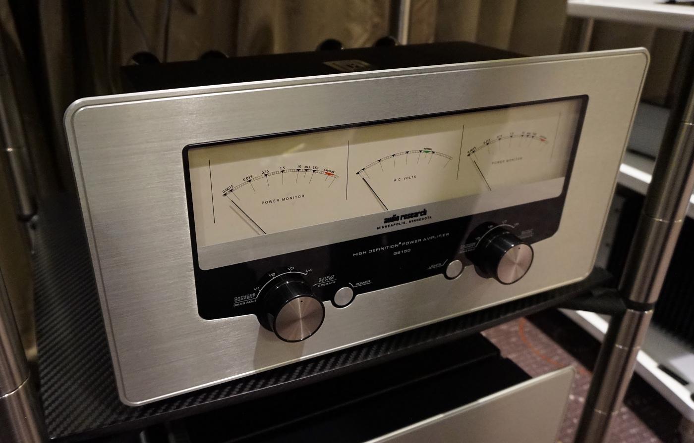 Audio Research GS150 er seneste inkarnation af firmates 150 W rørkæmpe. Foto: John Alex Hvidlykke, Lyd & Billede