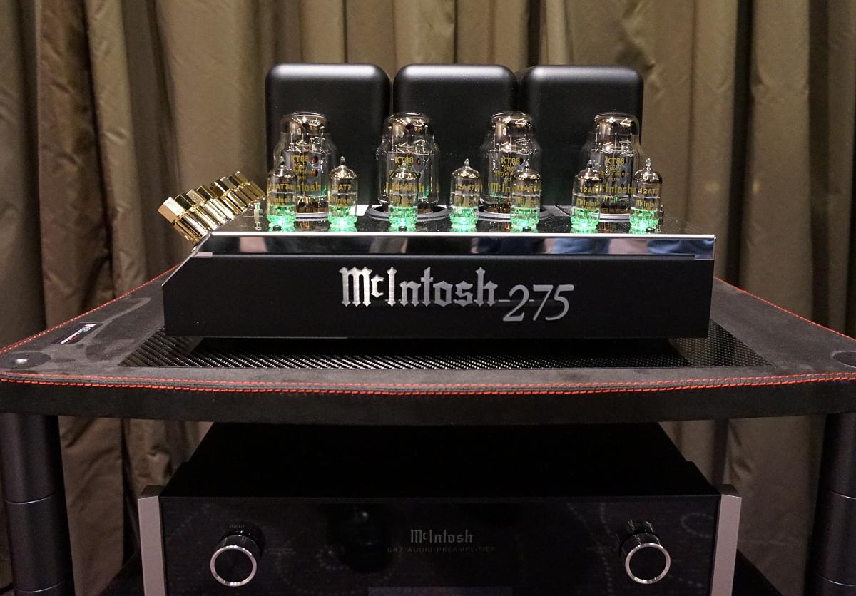 Så bliver det ikke mere klassisk: McIntosh 275! Foto: John Alex Hvidlykke, Lyd & Billede