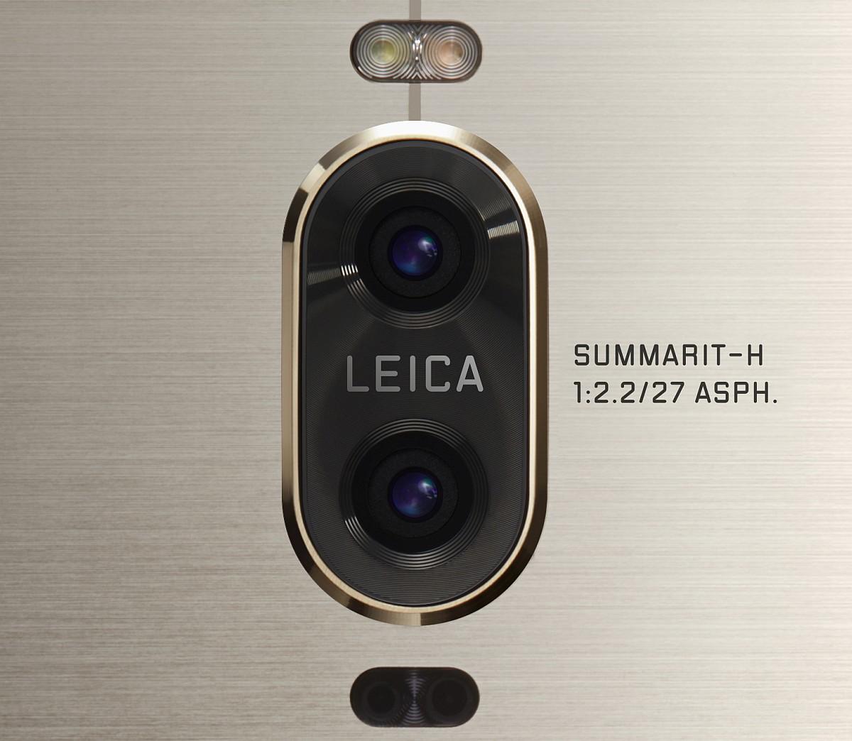 To kameraer med optik fra Leica (Foto: Huawei)