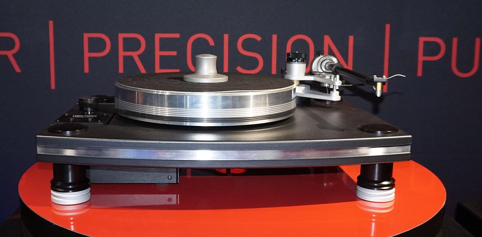 Harman-ägda Mark Levinson har fått en vinylsvarv i sortimentet. Foto: John Alex Hvidlykke, Ljud & Bild.