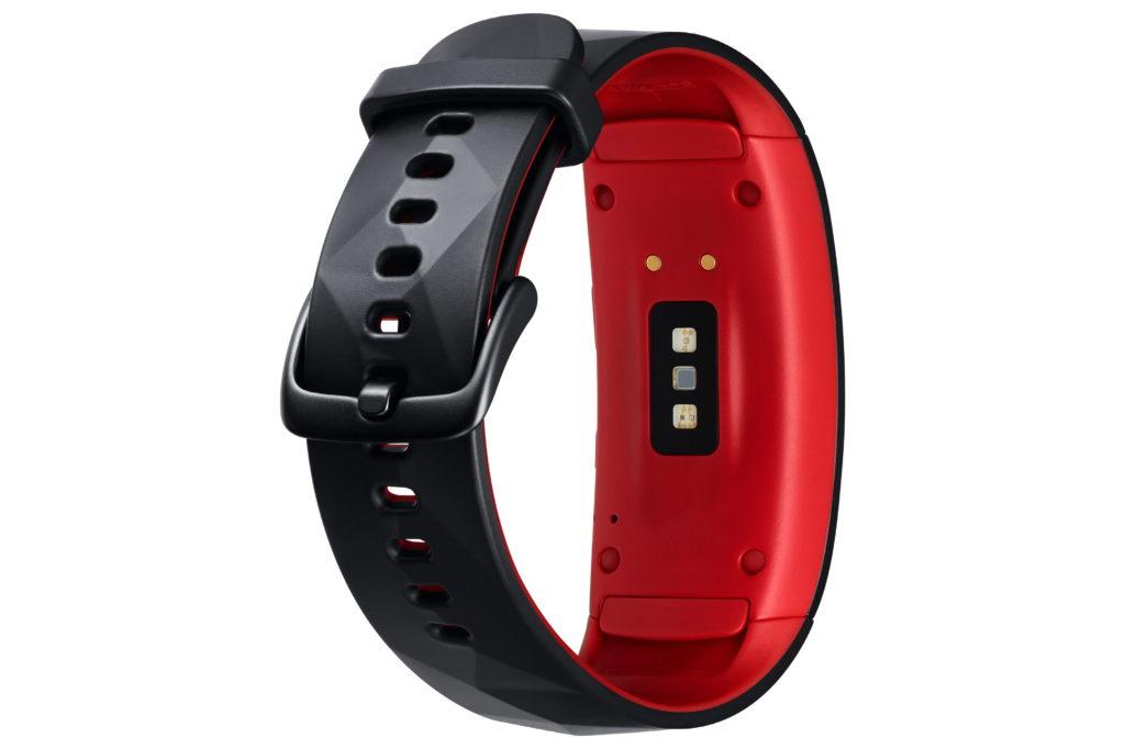 Nu kan träningsarmbandet hålla kolla på hjärtrytmen. Foto: Samsung