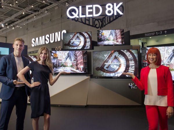 "IFA 2019: 55"" 8K-TV fra Samsung"
