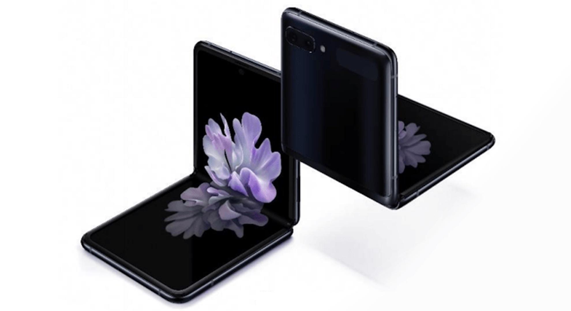 Samsung Galaxy Z Flip topbillede