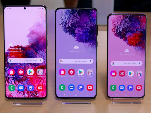 Samsung lancerer Galaxy S20-serie med hele tre topmobiler
