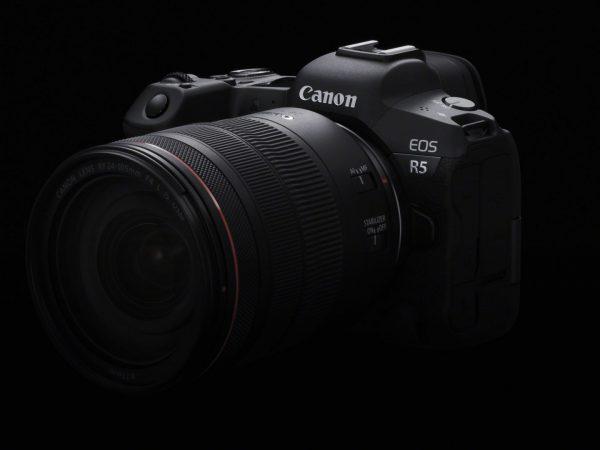Det spejlløse Canon EOS R5 optager video i 8K