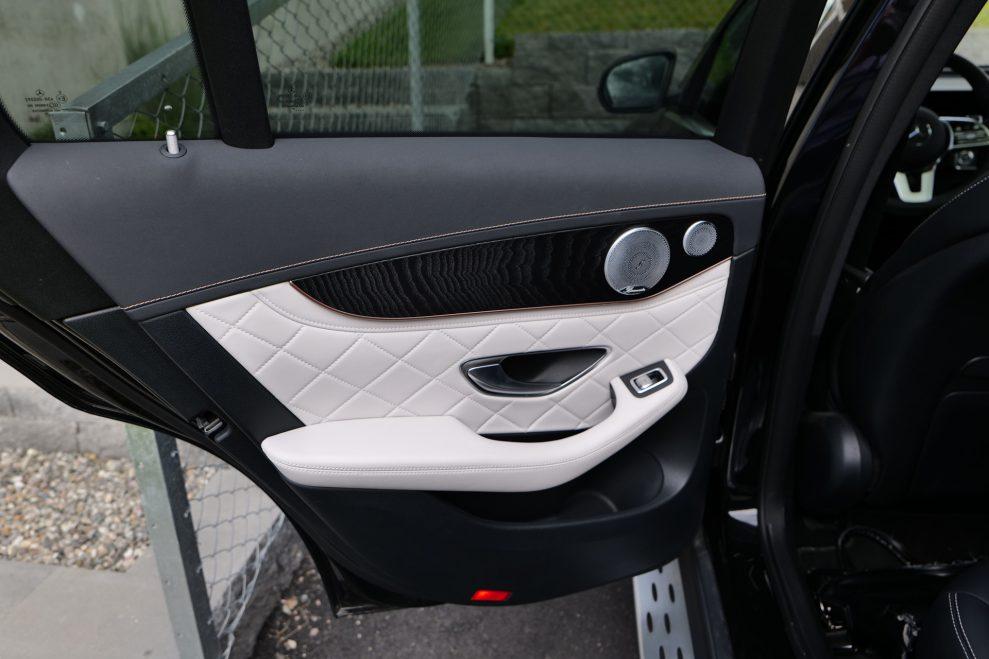Mercedes EQC med Burmester