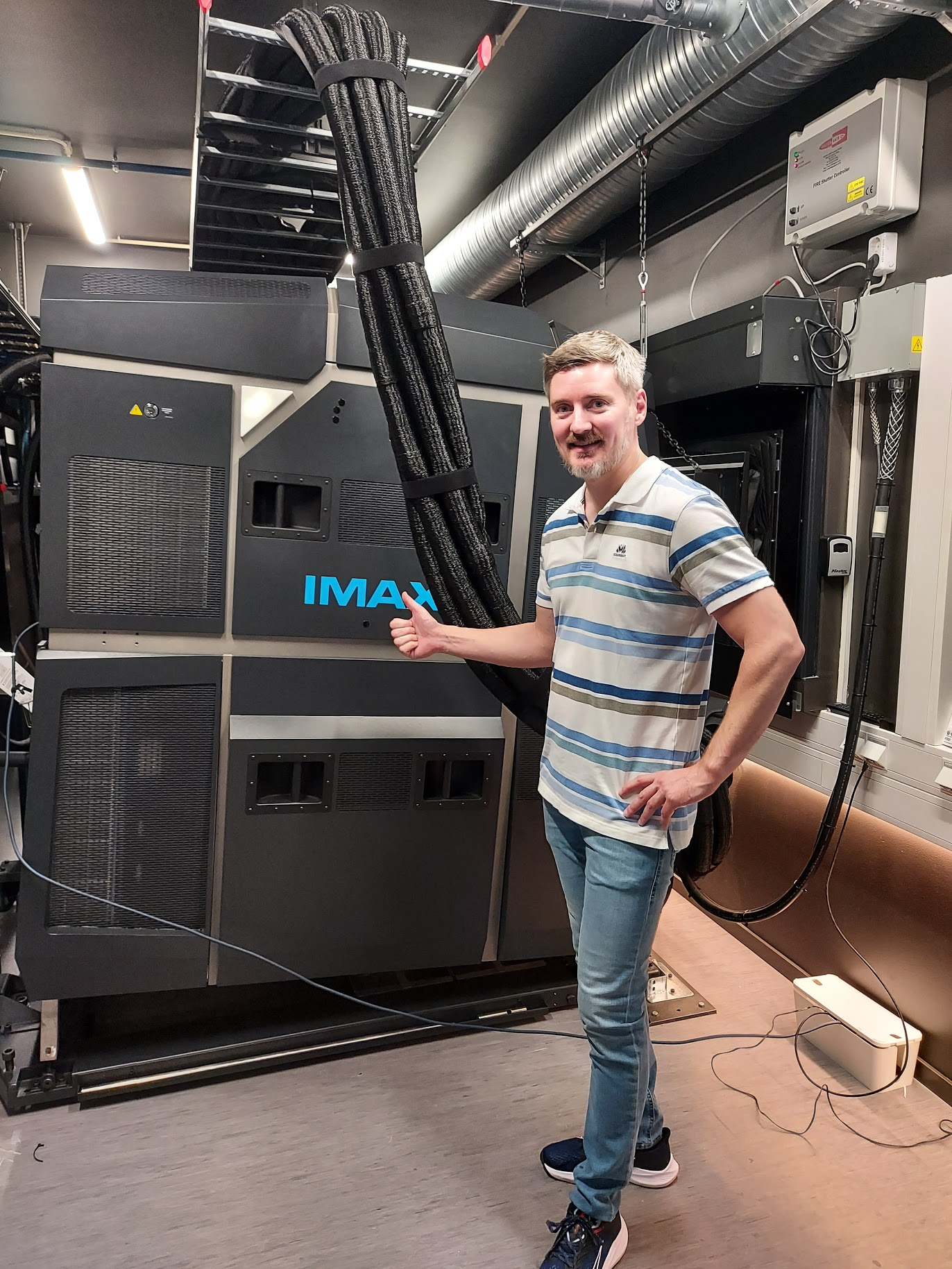 IMAX projektorer & Audun