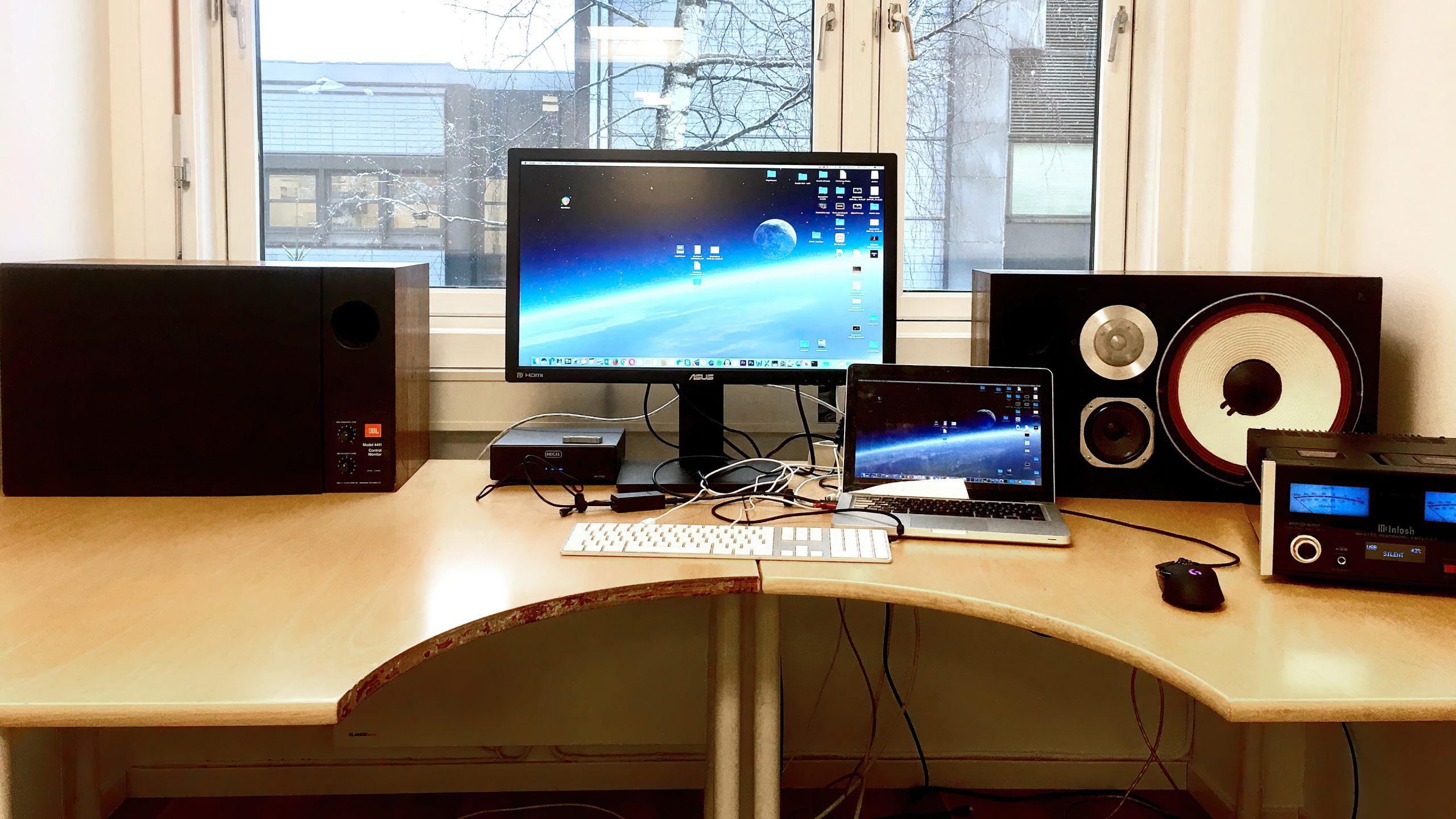 JBL Desktop Graabein