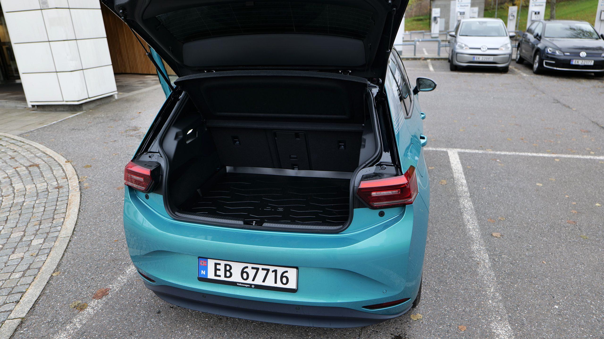 Volkswagen ID.3 1st Max. Foto: Geir Gråbein Nordby
