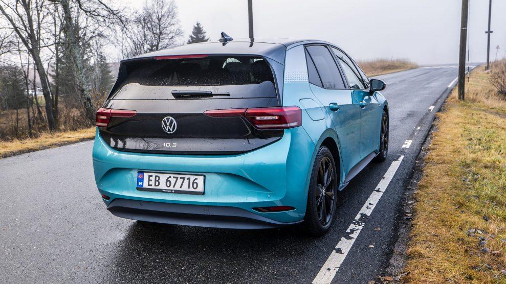 Volkswagen WV ID3 rear