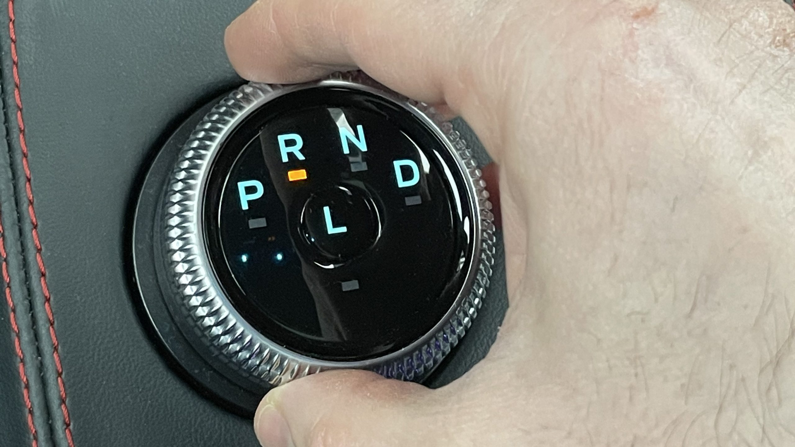 Ford Mustang Mach-E gear shifter