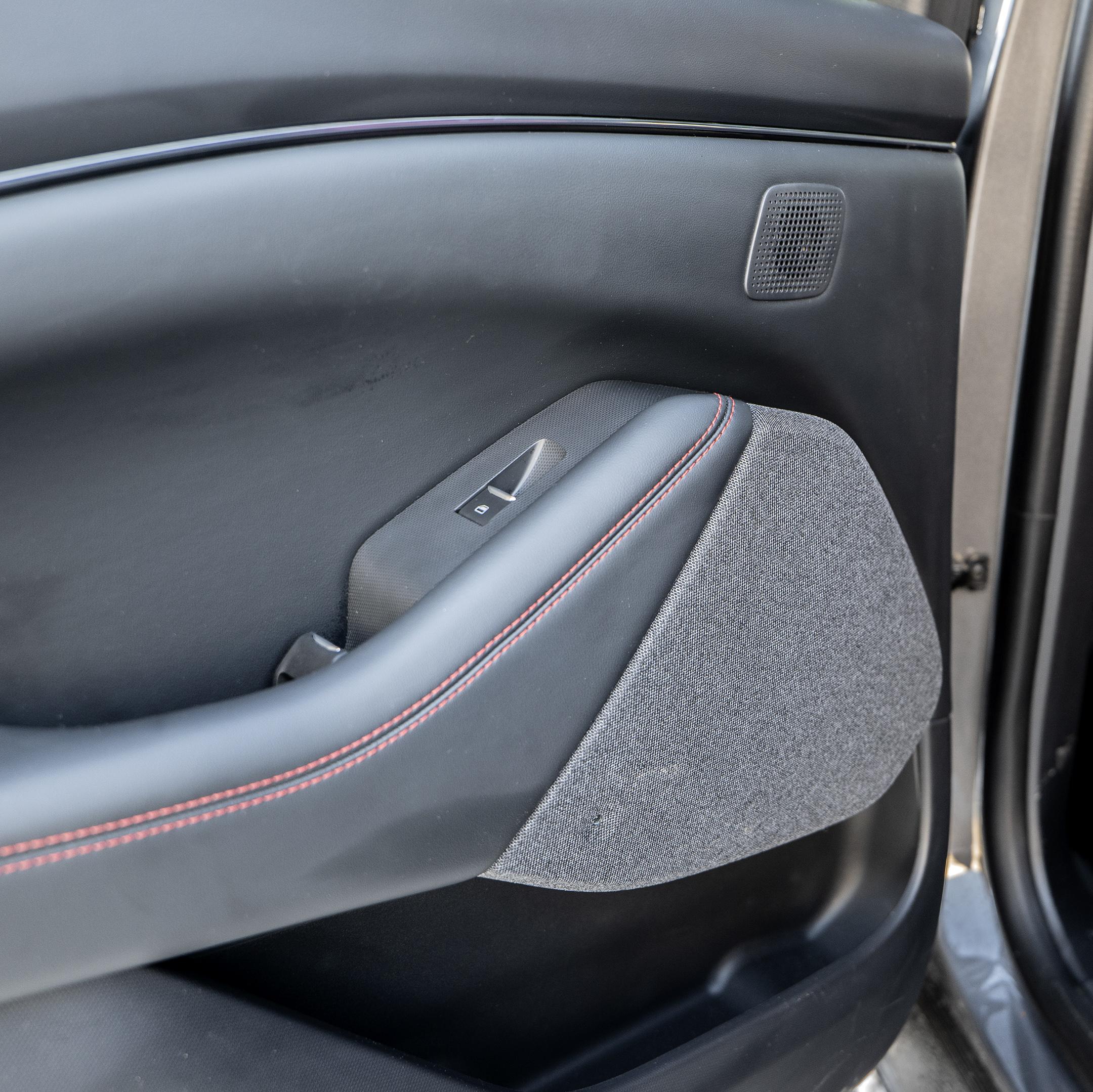 Ford Mustang Mach-E tweeter midrange backseat