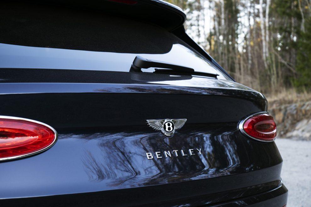 Bentley Bentayga back