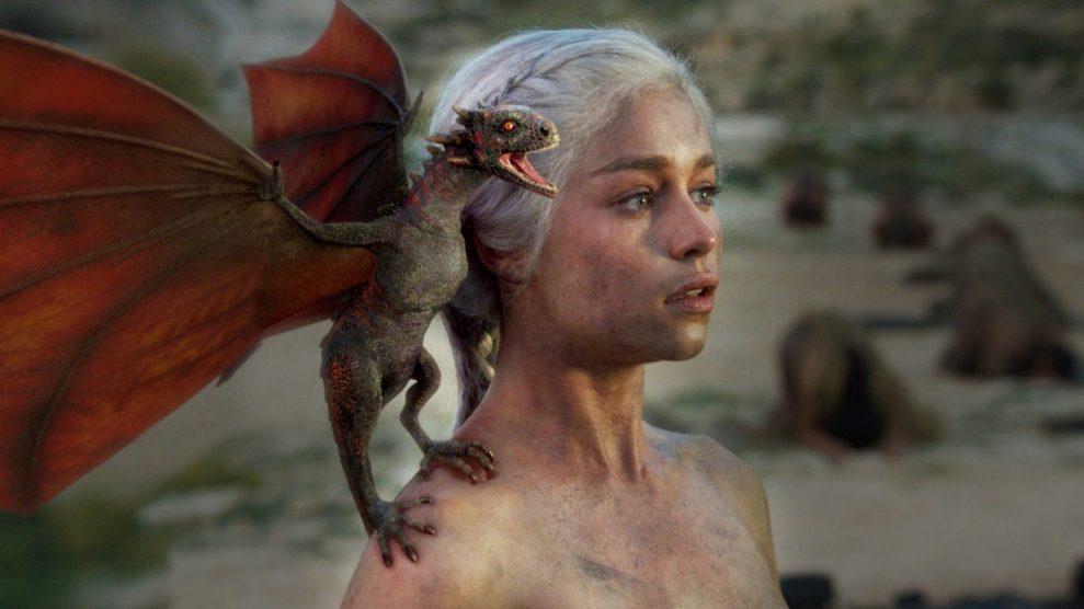 Emilie Clarke Game of Thrones