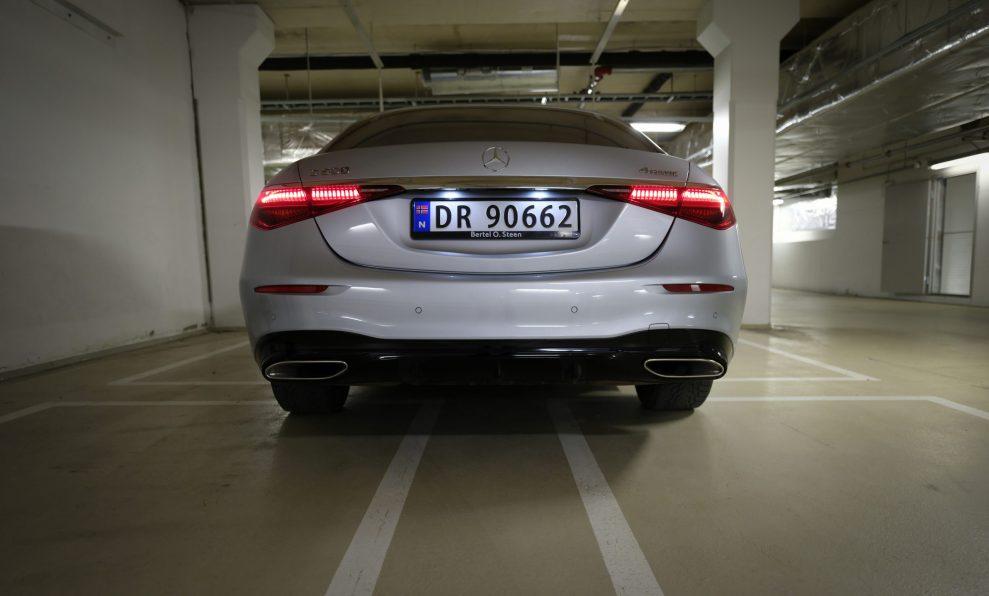 MB S500 rear