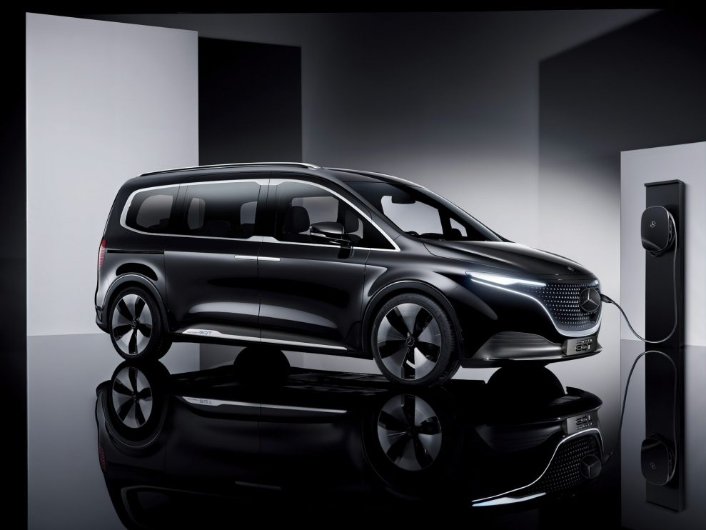 Premiere of the Concept EQT – forerunner of a new premium quality in the small van segment