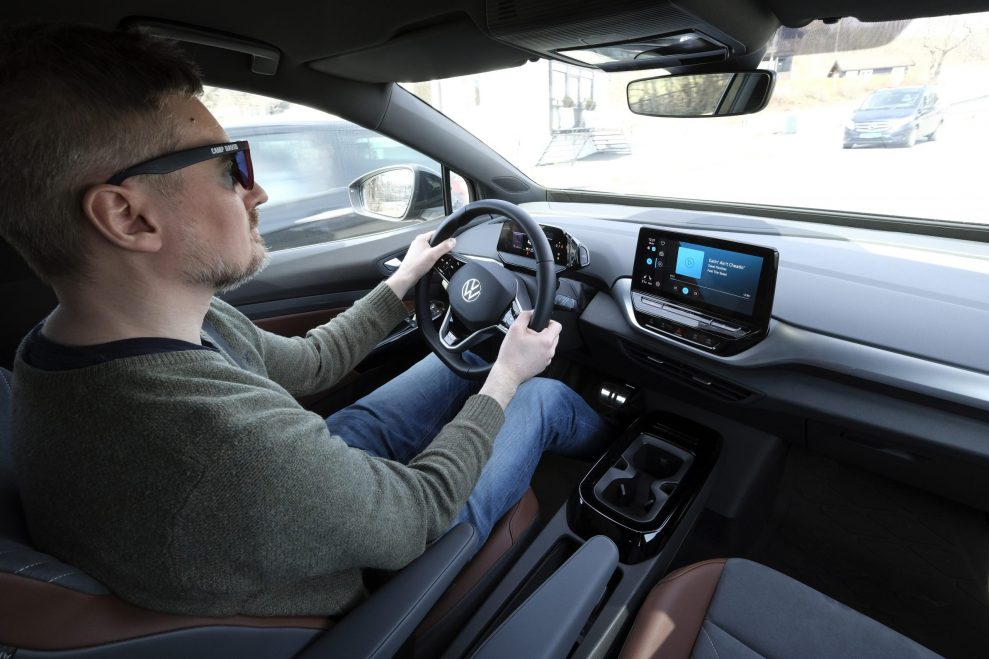 VW ID4 drive