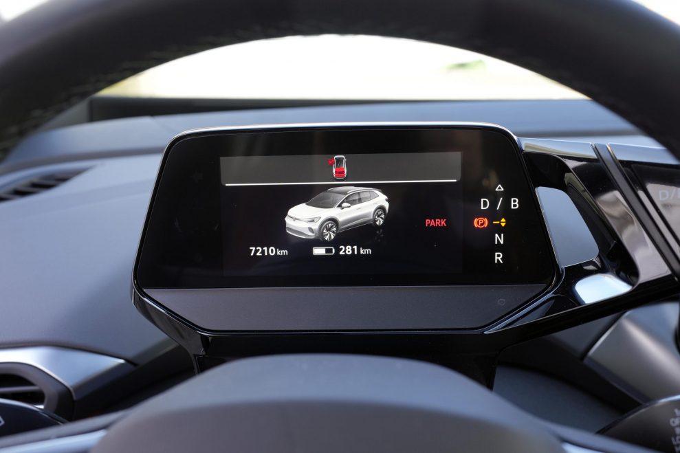 VW ID4 hvit frontskjerm