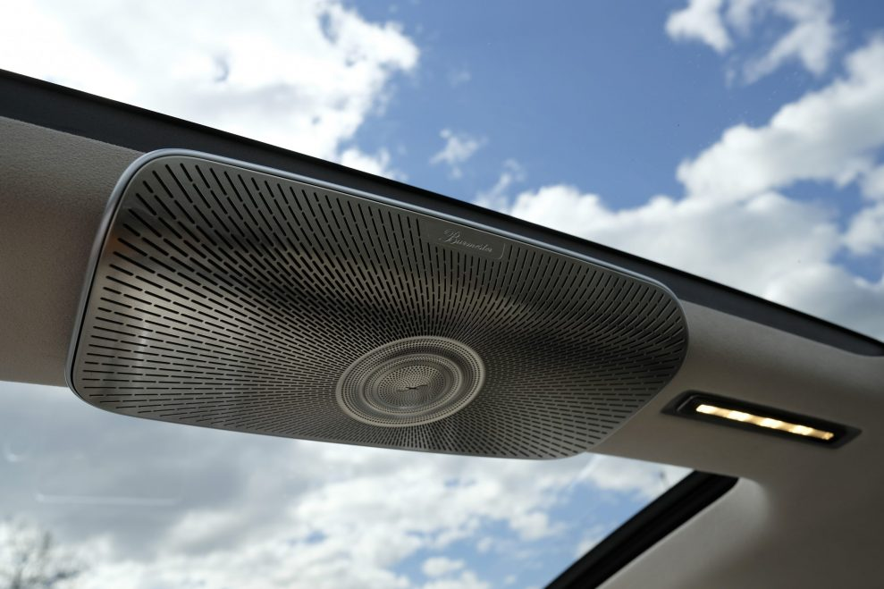 S-Klasse Burmester roof speaker