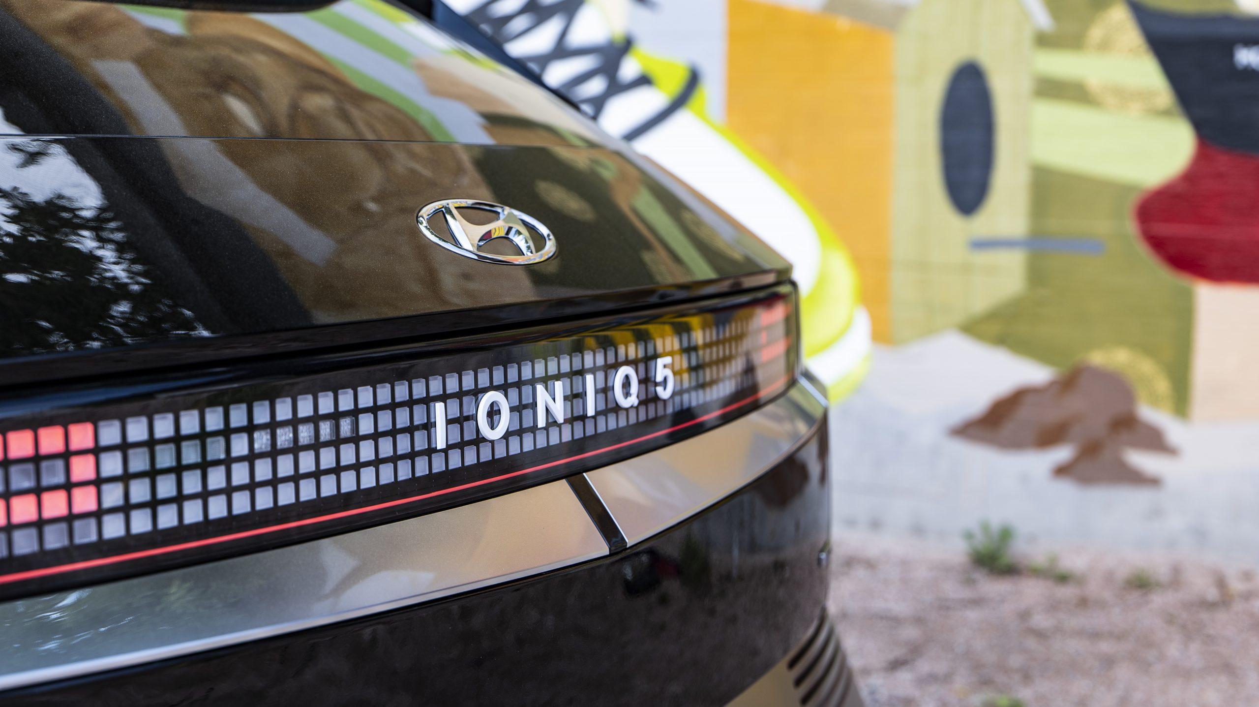 Hyundai IONIQ5 Rear Closeup