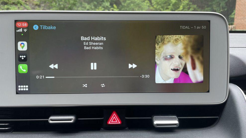 Hyundai Ioniq 5 CarPlay Tidal
