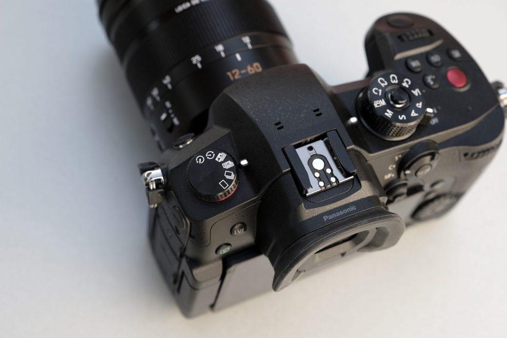 Lumix GH5 II dial